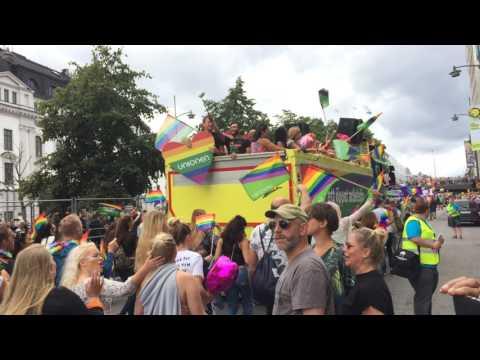 Гей парад в Стокгольме (Pride Parade) Stockholm