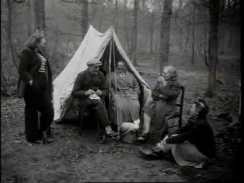 Stormloop op kampeerterrein Bakkum (1951)