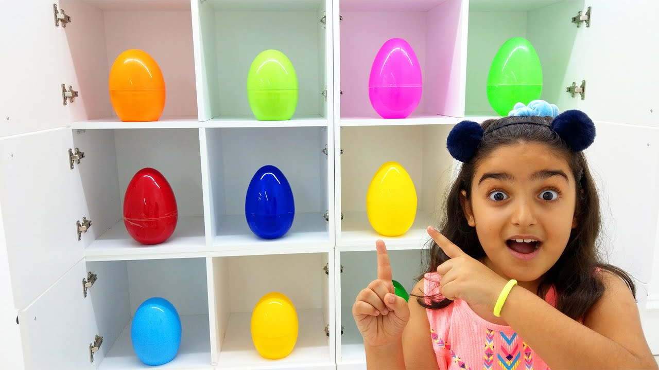 Magical Surprise Egg Story with Esma