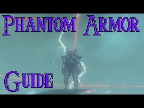 How to get Phantom Armor Guide  EX Treasure: Phantasma Zelda Breath of The Wild |