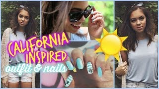 California Inspired Outfit + Nails ☼ Thumbnail