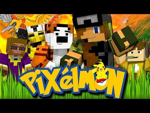 """Crew Pixelmon Season 2! - """"TIME TO EXPLORE!"""" - Part 1 (Minecraft Pokemon Mod!)"""