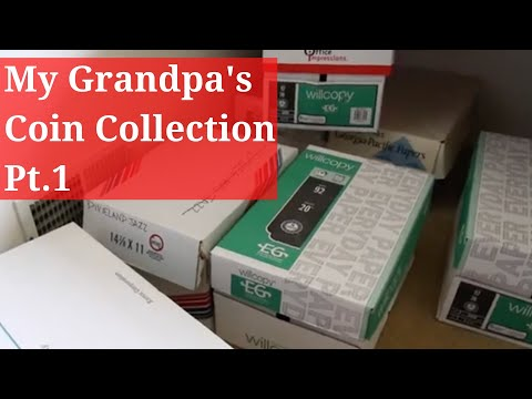 CARSON CITY MORGAN Silver Dollars Found In My Grandpa's Coin Collection Part 1