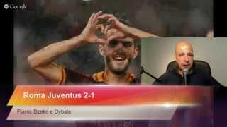 Roma Juventus 2-1 Gol Di Pjanic E Dzeko - Fine Di Un Ciclo?