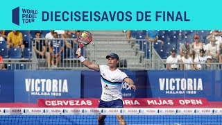 Resumen Dieciseisavos de Final (tarde) Cervezas Victoria Mijas Open