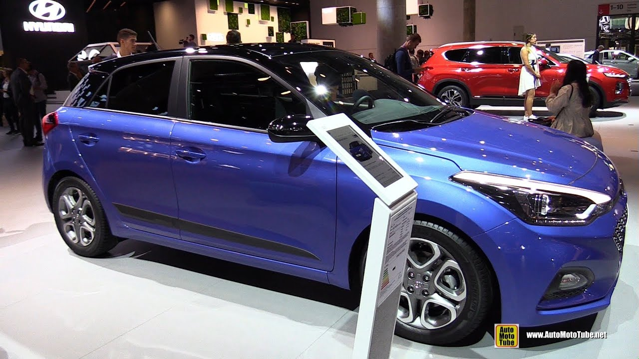 2020 Hyundai I20 Exterior And Interior Walkaround 2019 Frankfurt Motor Show Youtube