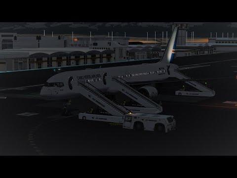 [Prepar3D]TCV6101 Sal(GVAC) Praia(GVNP) Captain Sim Boeing 757-200