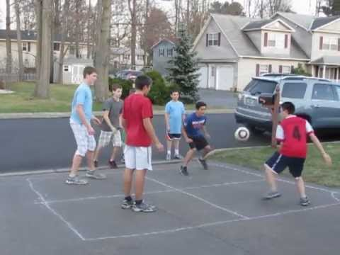 Game of Four Square - YouTube