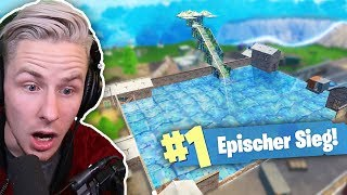 HUGE POOL IN FORTNITE BUILT! + new secret SECRET DISCOVERS!