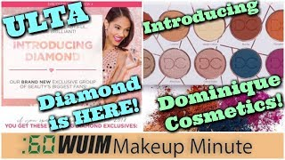 Ulta Diamond LAUNCHES! Christen Dominique's FIRST Palette from Dominique Cosmetics! | Makeup Minute