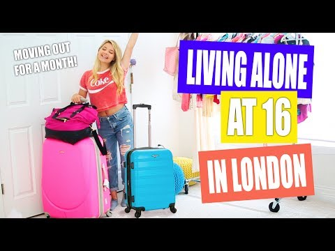 Living ALONE at 16 in London: Life Update