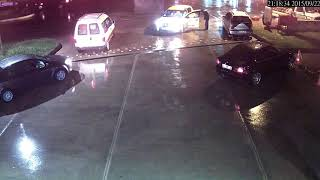 Motorcunun Gazabına Uğrayan Taksici