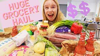 Grocery Haul AUSTRALIA From ALDI/ Woolworths/ Green Grocer/ Bulk Food Store 🥒  [HEALTHY HAUL 2020]
