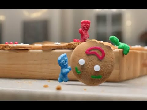 Sour Patch Kids Commercial 2020 Gingerbread Murder Youtube