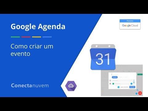 Como criar um evento no Google Agenda - Google Agenda