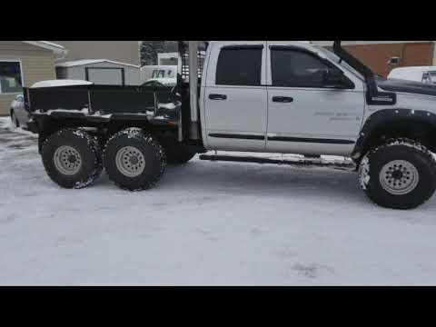 Dodge Ram 3500 Cummins 6x6 6 Wheel Drive Youtube