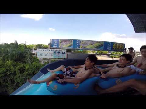 FStyle chơi Boomerang - Đầm Sen nước