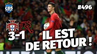 Portugal vs Suisse (3-1) LIGUE DES NATIONS - Débrief / Replay #496 - #CD5