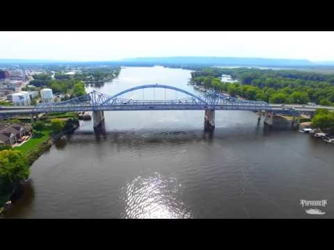 Papa Roach drone footage in La Crosse, Wisconsin