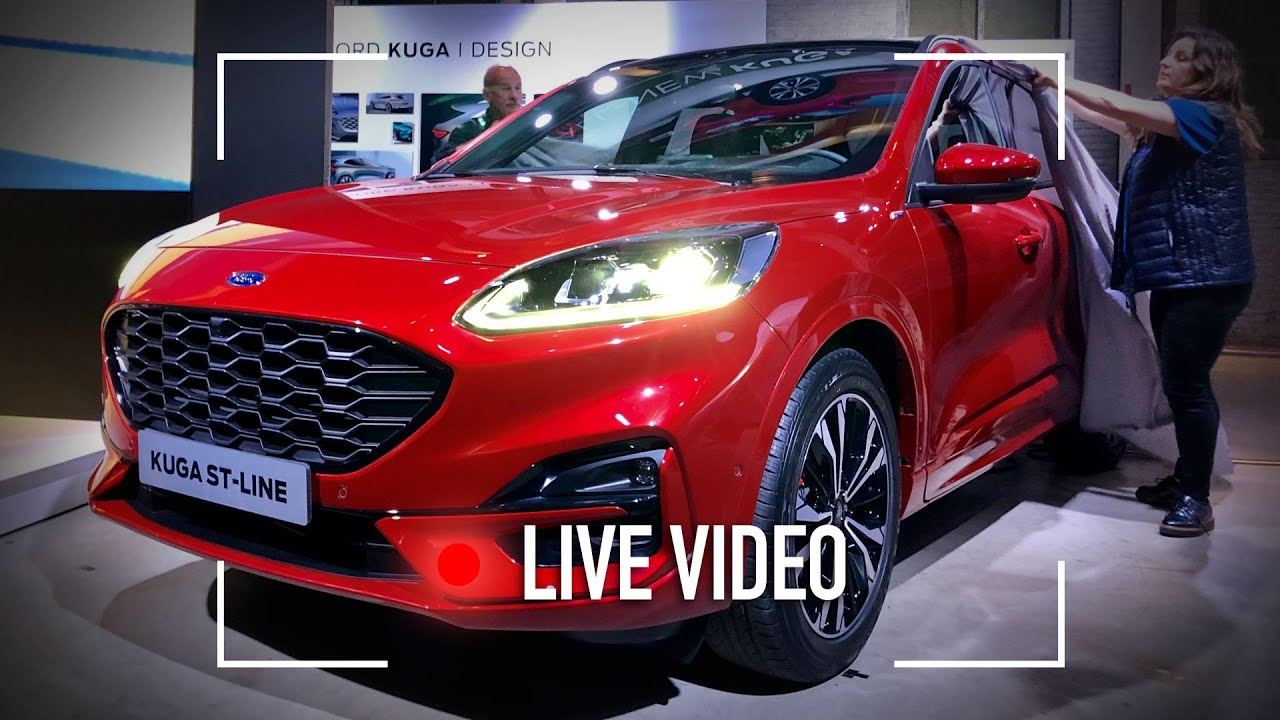 Nuova Ford Kuga Com E Vista Dal Vivo Youtube