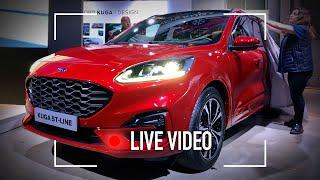 Nuova Ford Kuga, com'è vista dal vivo