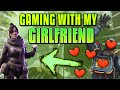 PLAYING APEX LEGENDS WITH MY GIRLFRIEND - YouTube