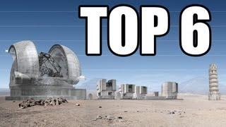 6 Największych Teleskopów Przyszłości
