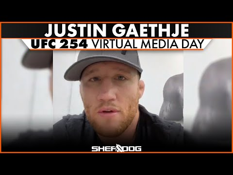 Justin Gaethje | UFC 254 Virtual Media Day interview