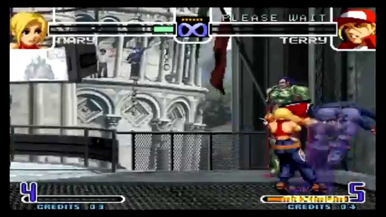The King of Fighters 2002 Mary Desperation Moves Tutorial