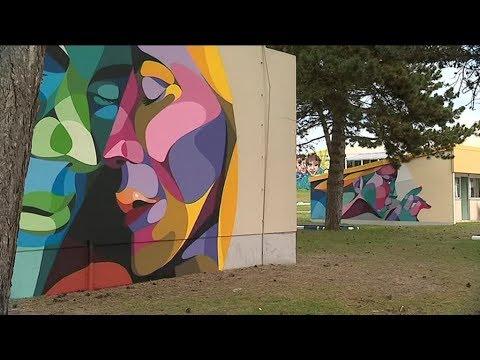 LOCB : Une galerie d'art à ciel ouvert à Hauteville sur mer.