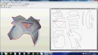 1 - (Downloading, Scaling & Printing Files) Foam Pepakura Iron Man Suit/Armor explanation