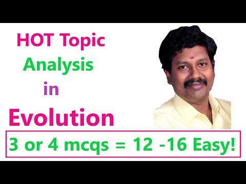 Very Important For  NEET 2020 //Hot Topic Analysis -  Evolution Chapter // Focus 360 On Sure Topics