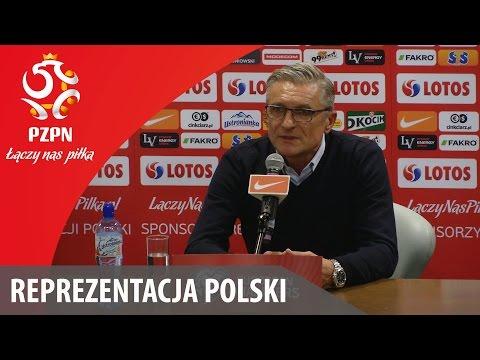 Konferencja prasowa reprezentacji Polski po meczu z Irlandią (11.10.2015r.)