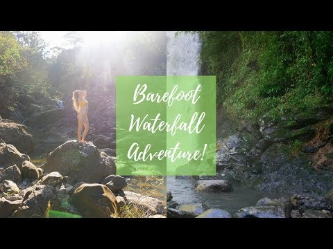 Barefoot in HAWAII 🌴 || Waterfall Adventure