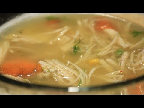 How to Cook Basic Chicken Soup Easy