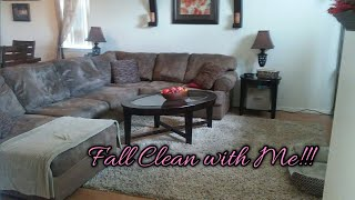 Fall Clean With Me 2018!!!! Extreme Speed Cleaning