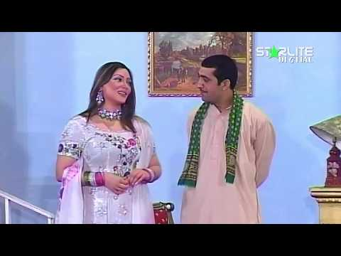 Zafri Khan, Amanat Chan and Nasir Chinyoti New Pakistani Stage Drama Full Comedy Funny Clip