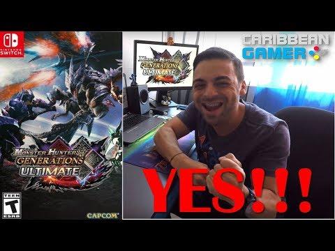 Monster Hunter Generations Ultimate para el Nintendo Switch | Caribbean Gamer