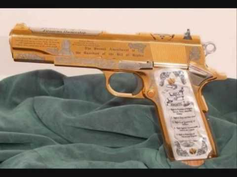 Gold plated guns