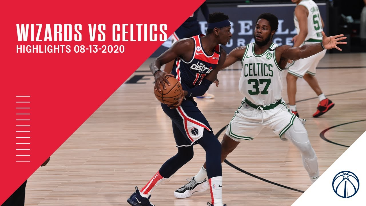 Highlights: Wizards vs. Celtics - 08/13/20