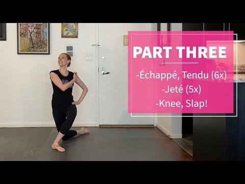 Beginner Level: NYCB's Kristen Segin, Ballet Lesson (SPAC Virtual Dance Lab)