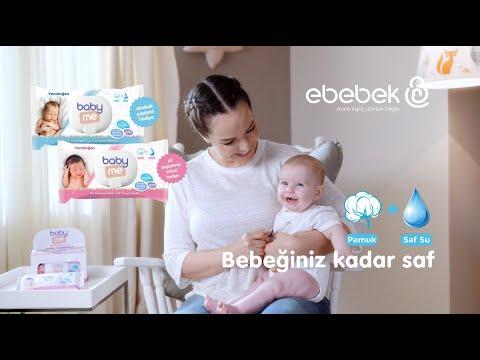 baby me Yenidoğan Islak Pamuk Mendil - Bebeğiniz kadar saf