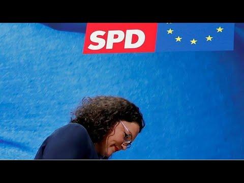 تراجع شعبية الحزب الاشتراكي الديمقراطي في ألمانيا يجبر زعيمته على الاستقالة…  - 13:54-2019 / 6 / 2