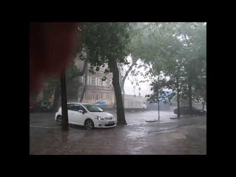 Как начинался ливень в Одессе