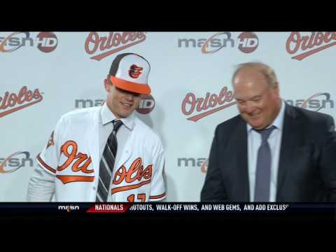 Orioles introduce first-round pick DL Hall