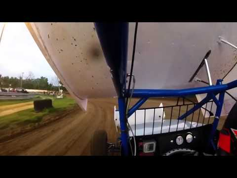 6-21-15 ASCS Warrior Region Double X Speedway Tyler Blank Heat Race