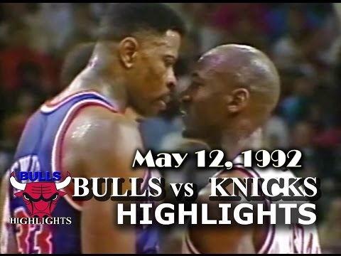 Bulls vs Knicks Rivalry Part 1: The War Has Begun (1992 ...