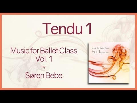 "Music For Ballet Class Vol.1 ""Tendu 1"" - Original Piano Songs By Jazz Pianist Søren Bebe"