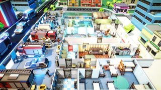 Building 911 EMERGENCY RESCUE HQ & SWAT Teams | Rescue HQ Gameplay