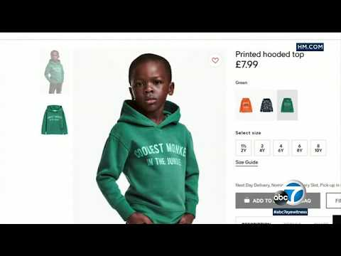 H&M apologizes for ad of black boy wearing 'coolest monkey in the jungle' hoodie | ABC7